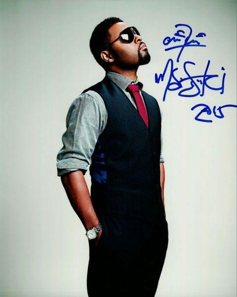 Musiq Soulchild autograph 8x10, RARE Autograph..... R&B Artist