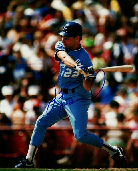Jim Eisenreich Autographed 8x10, Kansas City Royals
