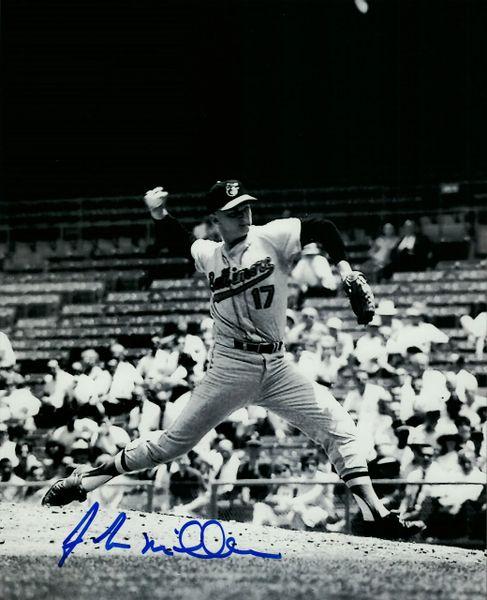 John Miller autograph 8x10, Baltimore Orioles