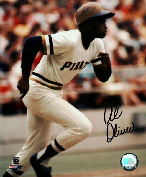 Al Oliver autograph 8x10, Pittsburgh Pirates