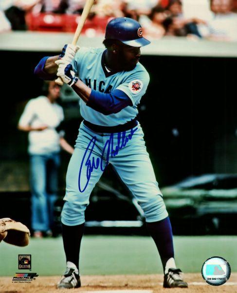 Bill Madlock autograph 8x10, Chicago Cubs