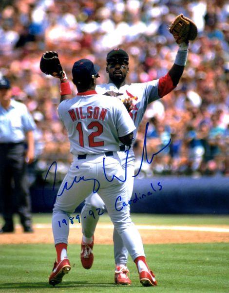 Craig Wilson autograph 8x10, St. Louis Cardinals with inscript