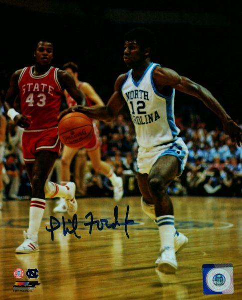 Phil Ford autograph 8x10, North Carolina Tar Heels