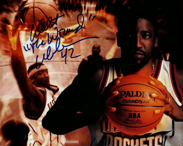 Walt Williams autograph 8x10, Houston Rockets