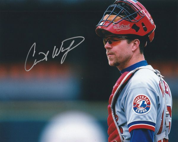 Chris Widger autograph 8x10, Montreal Expos