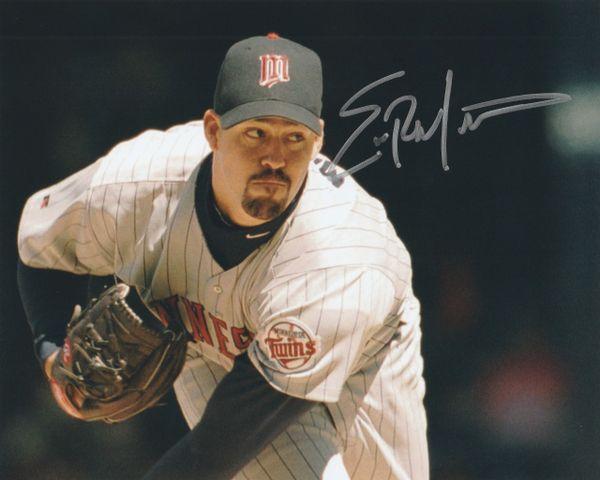 Eric Milton autograph 8x10, Minnesota Twins