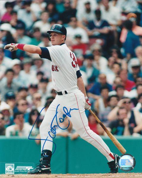Scott Cooper autograph 8x10, Boston Red Sox