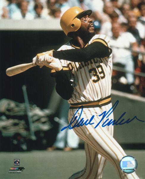 Dave Parker autograph 8x10, Pittsburgh Pirates