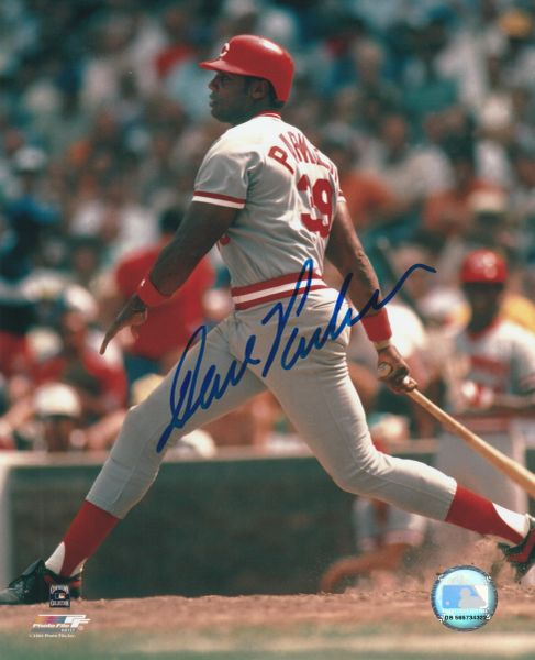 Dave Parker autograph 8x10, Cincinnati Reds