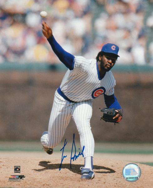 Lee Smith autograph 8x10, Chicago Cubs