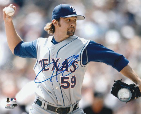 Josh Rupe autograph 8x10, Texas Rangers