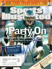 Jeremiah Trotter autograph Jan 31 2005 SI Magazine, Eagles