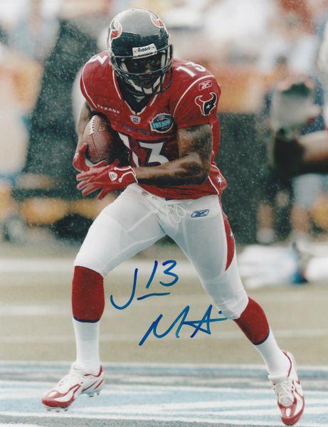 Jerome Mathis autograph 8x10, Houston Texans
