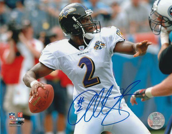 Anthony Wright autograph 8x10, Baltimore Ravens