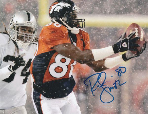 Rod Smith autograph 8x10, Denver Broncos