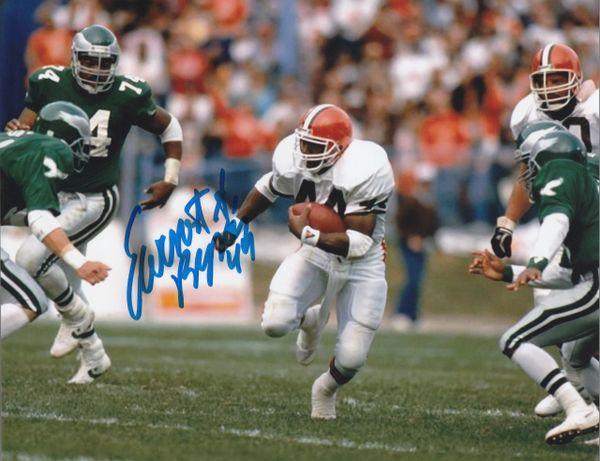 Earnest Byner autograph 8x10, Cleveland Browns #44