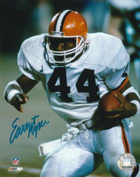 Earnest Byner autograph 8x10, Cleveland Browns