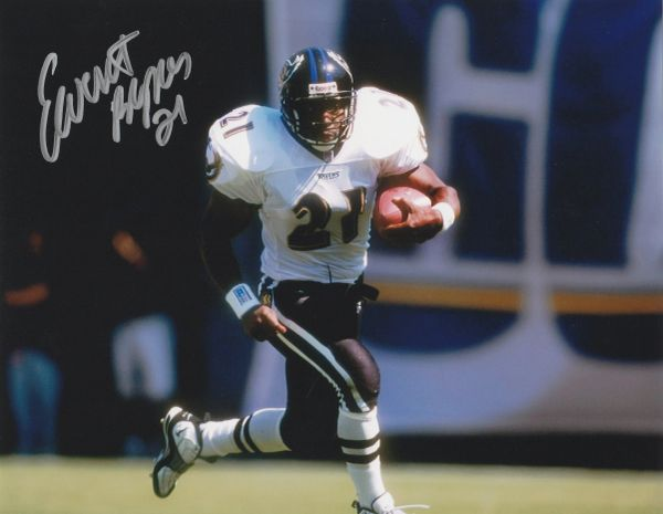 Earnest Byner autograph 8x10, Baltimore Ravens