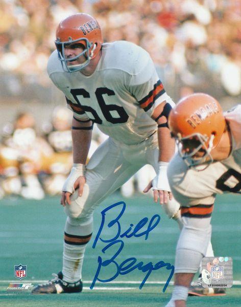 Bill Bergey autograph 8x10, Cincinnati Bengals