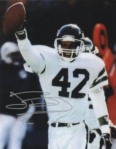 John Booty autograph 8x10, New York Jets