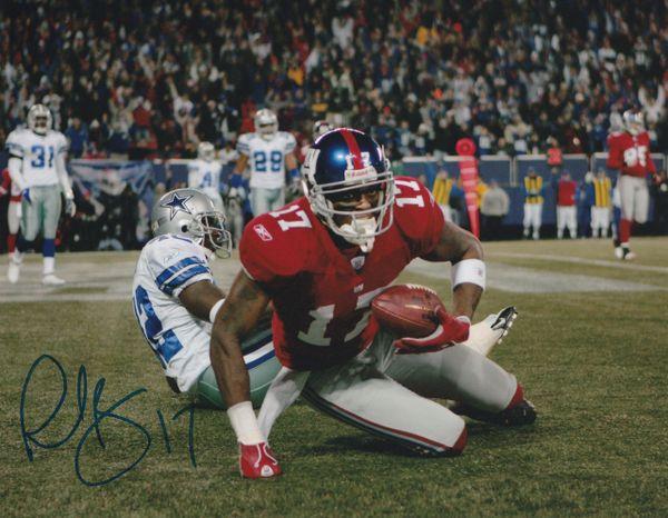 Plaxico Burress autograph 8x10, New York Giants