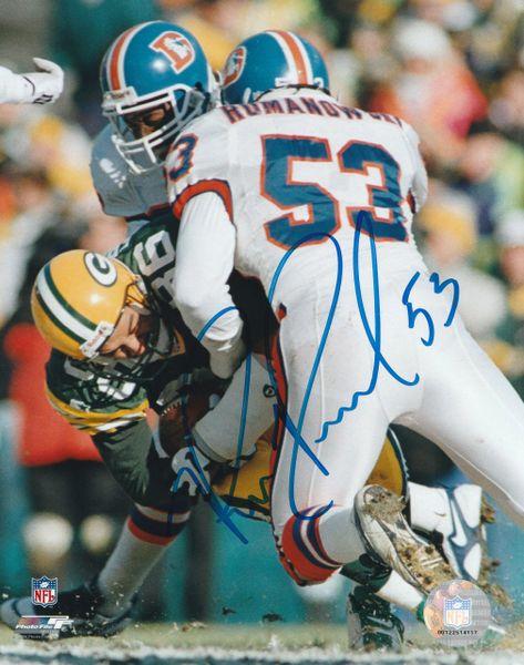 Bill Romanowski autograph 8x10, Denver Broncos