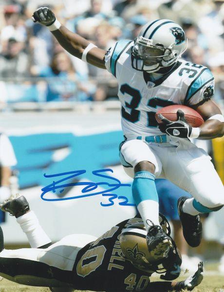 Rod Smart autograph 8x10, Carolina Panthers