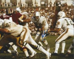 Jim Kick Autographed 8x10, Miami Dolphins with inscription