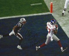 Plaxico Burress autograph 8x10, New York Giants with SB inscript