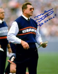 Mike Ditka autograph 8x10, Chicago Bears, Da Coach