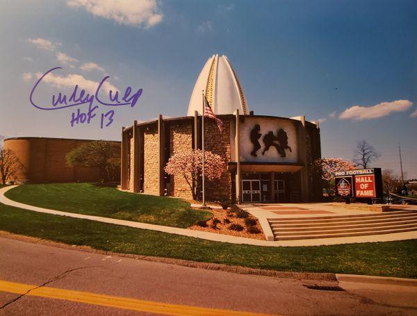 Curley Culp autograph Canton 8x10, Kansas City Chiefs, HOF 13