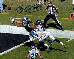 Kelvin Benjamin autographed 8x10, Carolina Panthers