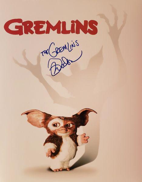 Mark Dodson autograph 11x14, The Gremlins