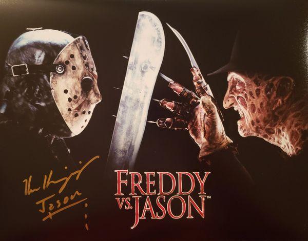 Ken Kerzinger autograph 11x14, Freddy vs. Jason, Jason Voorhees