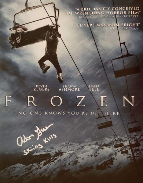 Adam Green autograph 11x14, Frozen, Skiing Kills