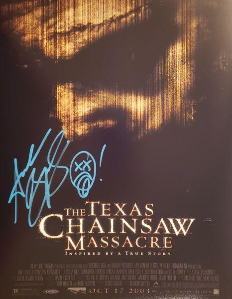 Andrew Bryniarski autograph 11x14, Texas Chainsaw Massacre