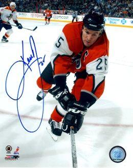 Keith Primeau autograph 8x10, Philadelphia Flyers