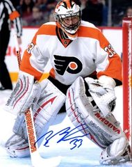 Brian Boucher autograph 8x10, Philadelphia Flyers