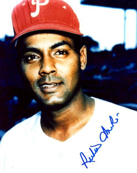 Ruben Amaro Sr. autographed 8x10, Philadelphia Phillies