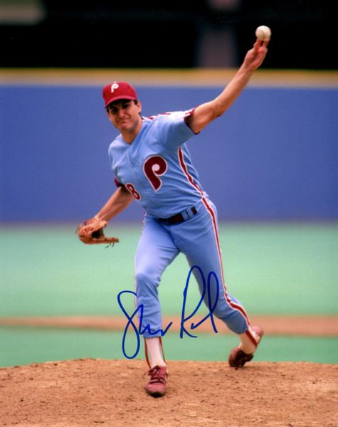 Shane Rawley autograph 8x10, Philadelphia Phillies