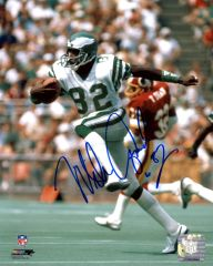 Mike Quick autograph 8x10, Philadelphia Eagles