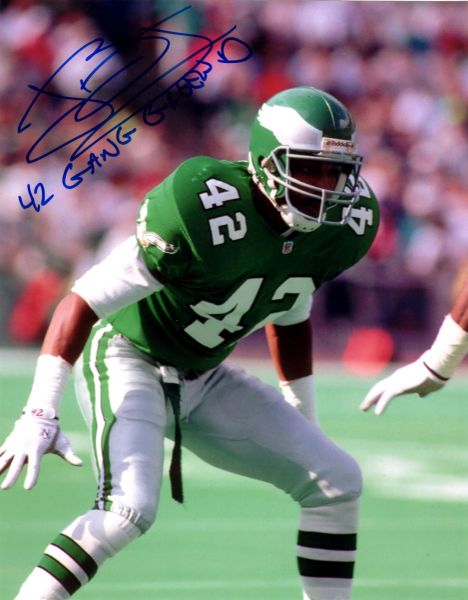 John Booty autograph 8x10, Philadelphia Eagles..cool inscription