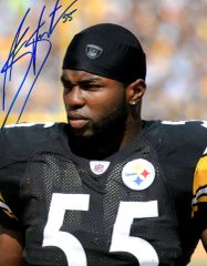 Stevenson Sylvester autograph 8x10, Pittsburgh Steelers
