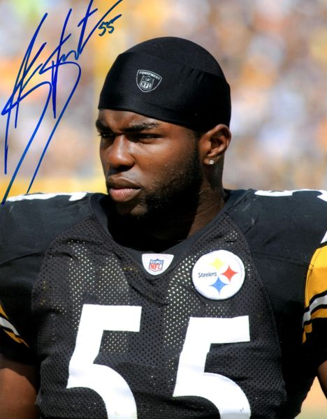 Stevenson Sylvester autograph 8x10, Pittsburgh Steelers