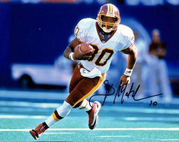 Brian Mitchell autograph 8x10, Washington Redskins