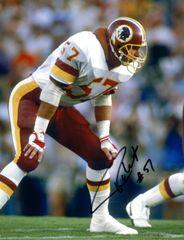 Rich Milot autograph 8x10, Washington Redskins