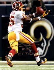 Leonard Hankerson autograph 8x10, Washington Redskins, HTTR