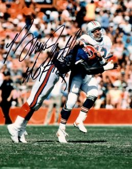 Bruce Smith autograph 8x10, Buffalo Bills, HOF inscription