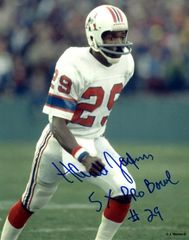 Harold Jackson autograph 8x10, New England Patriots, 5x Pro Bowl