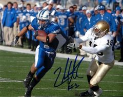 Chad Hall autograph 8x10, Air Force, AF1 inscription